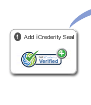 Add iCrederity's plug-and-play seal to your website for easy & effective employee screening.